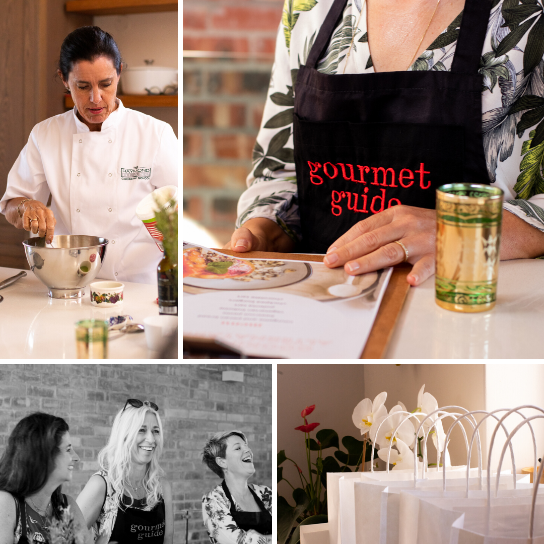Gourmet Guide alternatarian cooking demo