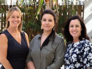 Sharon Sheldon, Natalie Brock and Jenny Handley - credit Anne Marais