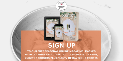 Gourmet Guide magazine sign up